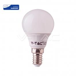 Lâmpada LED E14 7W 4000K 600Lm P45 Chip SAMSUNG