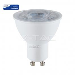 Lâmpada LED GU10 8W 6400K 720Lm 38º Chip SAMSUNG