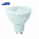 Lâmpada LED GU10 6.5W 4000K 480Lm 38º Chip SAMSUNG