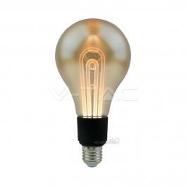 Lâmpada LED E27 5W 2200K 250Lm G100 FILAMENT