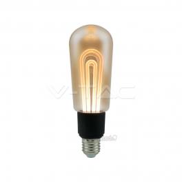 Lâmpada LED E27 5W 2200K 250Lm T60 Filament AMBER