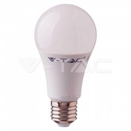 Lâmpada LED E27 RGB+W 9W Luz Natural e RGB c/comando DIM
