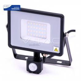 Projector LED 30W Luz Fria 2400Lm SENSOR b Chip SAMSUNG