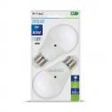 Lâmpada LED E27 9W 6400K 806Lm A60 200D C/SENSOR (Pack2)