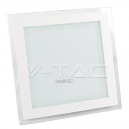 Painel LED GLASS 18W Luz Quente 1260lm quadrado