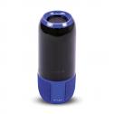 Coluna de Som Bluetooth USB&TF 2X3W Azul