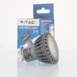 Lâmpada LED GU10 6w»50W 110º Luz Fria 450Lm DIM