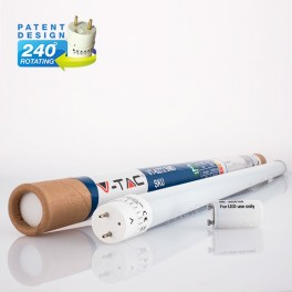 14W 90cm T8 270º GLASS Branca Natural 1200Lm