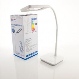 Candeeiro de Mesa LED 7W Luz Natural DIM cinza