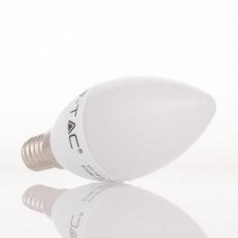 Lâmpada LED E14 4w»30W Luz Fria 320Lm VELA
