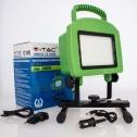 Projetor LED Portátil Recarregável 20w»100W 4000K 1600Lm