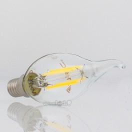 Lâmpada LED E14 4w»30W L.Quente 320Lm Vela-F CLEARglass DIM