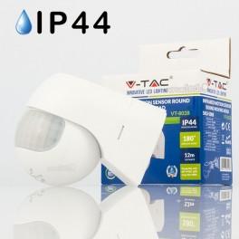 Sensor de Infravermelhos (PIR) parede 180º ROTATIVO B IP44
