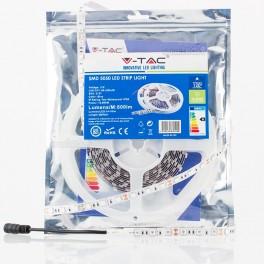 Fita LED 10.8W/m Azul SMD5050 60LEDs/m 12V IP20 (5 metros)