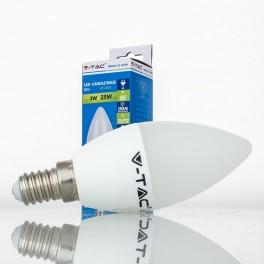 Lâmpada LED E14 3w»25W Luz Natural 250Lm Vela