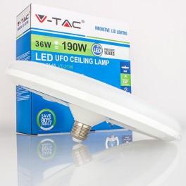 Lâmpada LED E27 36w»190W Luz Natural 3.240Lm F250 UFO