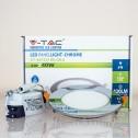 Painel LED SLIM 6W Luz Fria 420Lm CROMADO R
