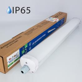 Armadura compacta LED 18w»100W 60cm Luz Fria 1.440Lm IP65