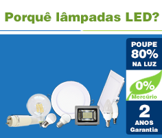 Porquê lâmpadas LED
